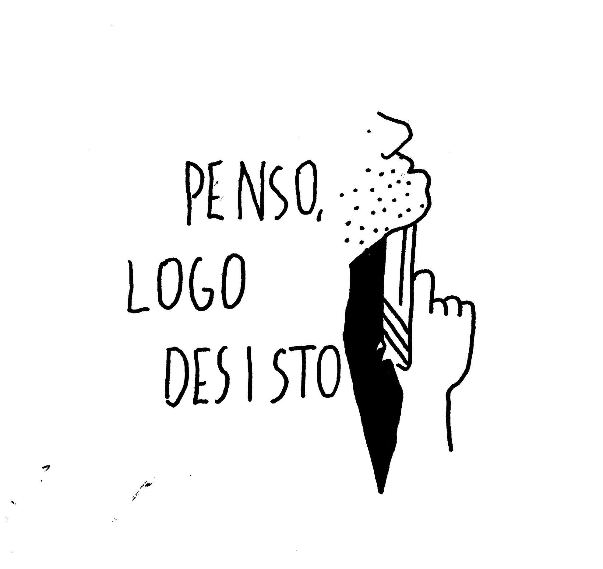 PENSO, LOGO DESISTO